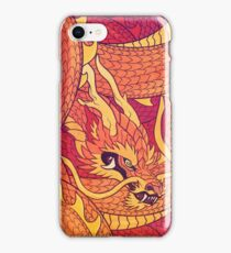 Coiled Dragon iPhone Case/Skin