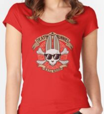 Death Bunnies Women's Fitted Scoop T-Shirt