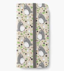 My Neighbour Totoro Pattern - Colour! iPhone Wallet/Case/Skin