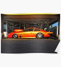 Camaro NHRA Pro Mod Drag Car Poster