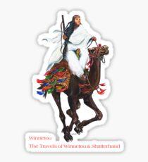 Winnetou in Arabia by tasmanianartist for Karl May Friends Sticker
