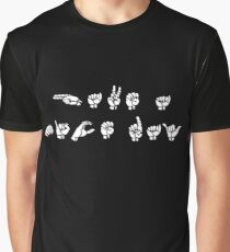 """HAVE A NICE DAY"" ASL Graphic T-Shirt"