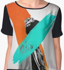 Paint Women's Chiffon Top