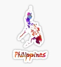 Philippines  in watercolor Sticker