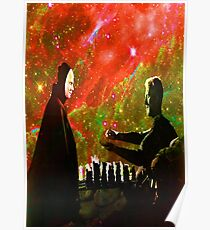Playing chess with Death Poster