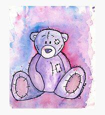 Ted - E - Bear Photographic Print