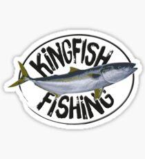 Kingfish Fishing Sticker