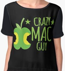 Crazy Mac guy Chiffon Top
