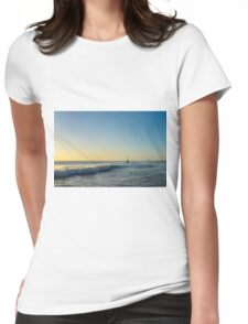 Cottesloe Beach Womens Fitted T-Shirt