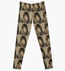 Daryl Dixon TWD in Derwent pencils Leggings