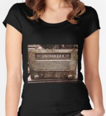 Old Vintage Radio Women's Fitted Scoop T-Shirt