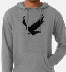 Sudadera con capucha ligera Cuervo