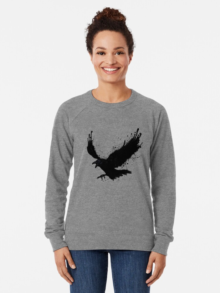 Alternate view of Raven Lightweight Sweatshirt