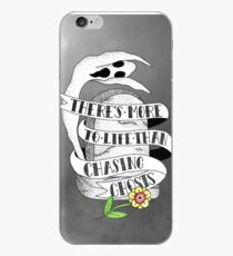 There's more to life than chasing ghosts iPhone Case