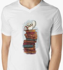 bird Men's V-Neck T-Shirt