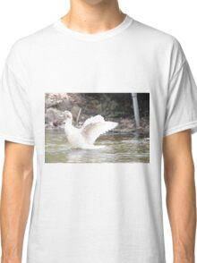 White Female Duck Classic T-Shirt