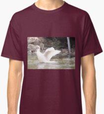 White Female Duck Classic T-Shirt