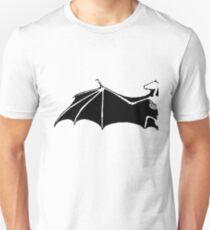 Bat-Wing - Fledermausflügel - Skelett Unisex T-Shirt