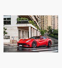 Ferrari F12 N-Largo Novitec Photographic Print