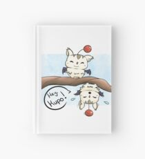 Silly Moogles Hardcover Journal