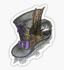 Steampunk Hat Sticker