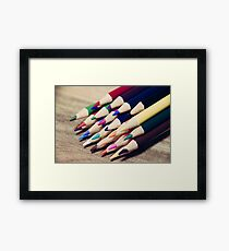 Colorful life 2 Framed Print