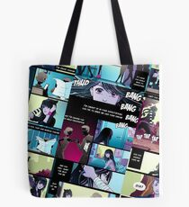 Silent Scream Comic  Tote Bag