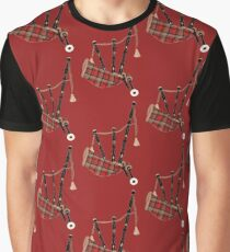 Bagpipe 1 Graphic T-Shirt