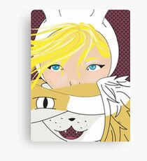 Fionna and Cake  Canvas Print