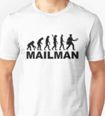 Evolution mailman T-Shirt