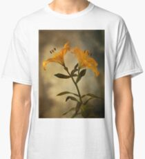 Yellow Lily on stem Classic T-Shirt