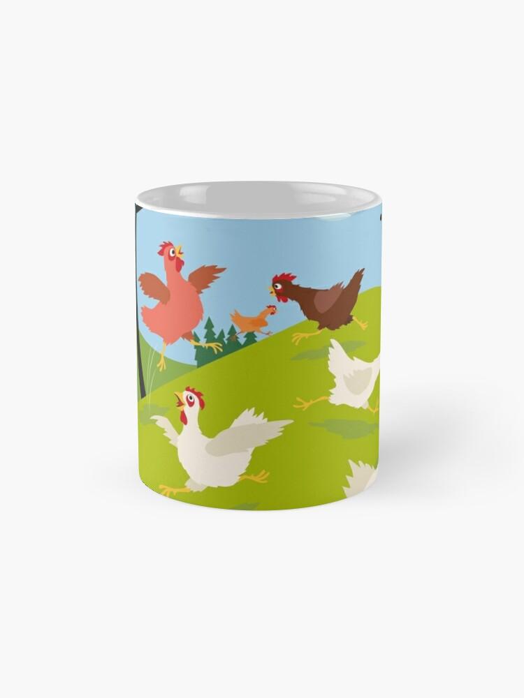 Alternate view of Chicken Run Mug