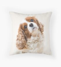 Lily the Cavalier King Charles Spaniel Throw Pillow