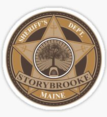Once Upon a Time - Storybrooke Sheriff's Dept. Sticker