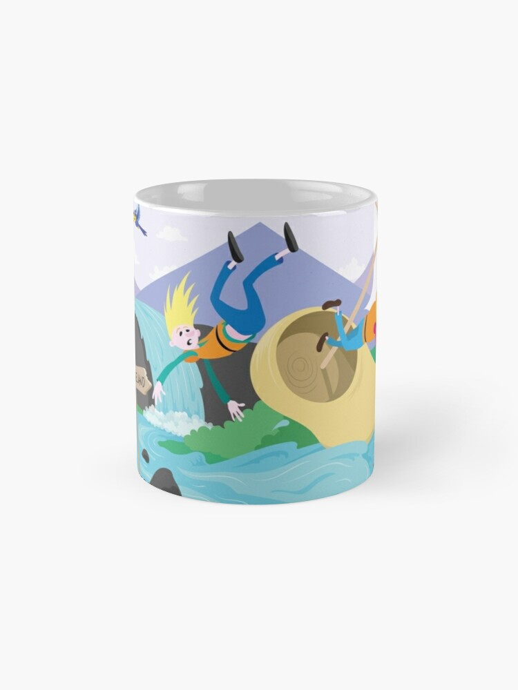 Alternate view of Sailing Down the River Mug