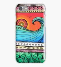 Sayulita Sunrise Surf Sessions iPhone Case/Skin
