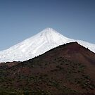 El Teide: Snow Capped by Kasia-D