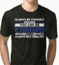 Timelord Tri-blend T-Shirt