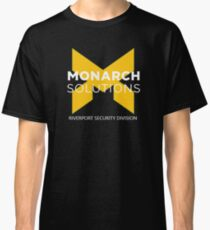 Monarch Solutions Shirt - Quantum Break  Classic T-Shirt