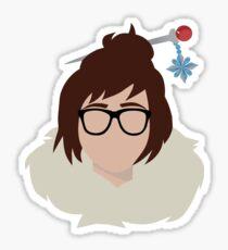 Minimalist Mei Sticker