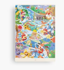 30 years of Mario  Metal Print
