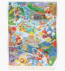 30 years of Mario  Poster