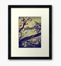 Templing at Hanuii Framed Print