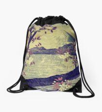 Templing at Hanuii Drawstring Bag