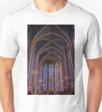 Sainte Chapelle Stained Glass Paris T-Shirt