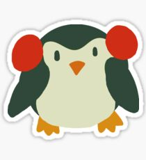 Cute Winter Penguin Sticker