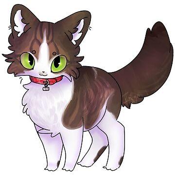 A Cute Kitten by Phantost