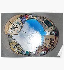 Kilcar Crossroads - Sky in Poster