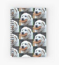Food Pupper Spiral Notebook