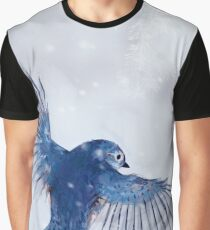 Winter Chickadee 2 Graphic T-Shirt